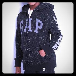 Gap Kids Stars Wars Logo Zippered Hoodie, Small
